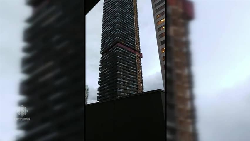 What's that sound? Wind gusts make not-so-sweet music against condo tower