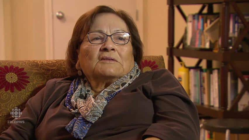 Mary Courchene Recalls Residential School Pain Cbc Player