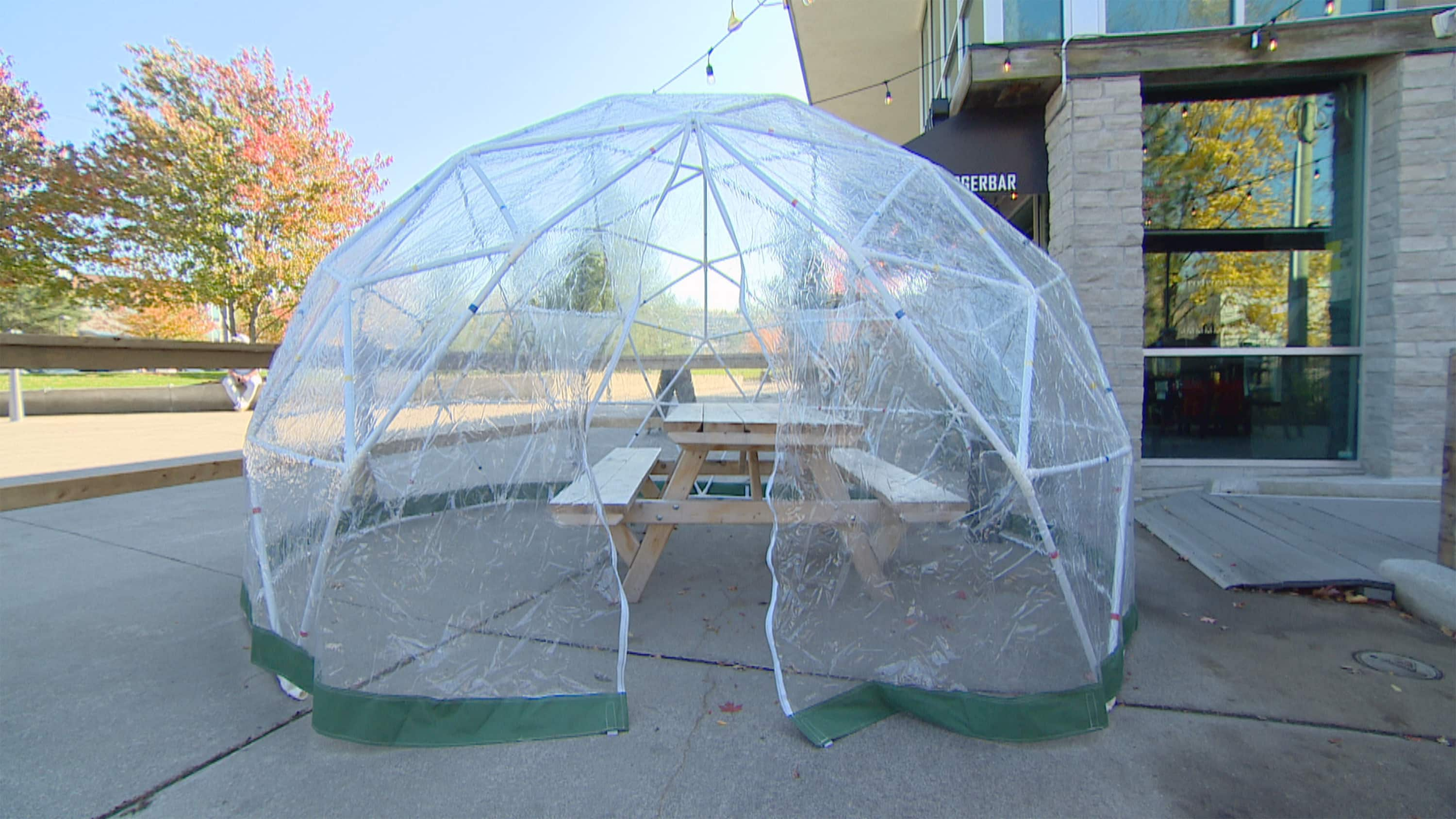 These snow pods could be the future of winter outdoor dining