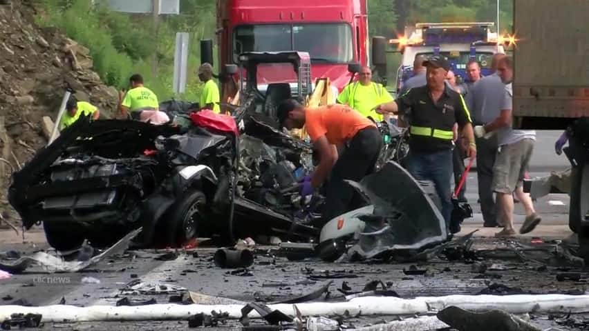 Father and son die in Pennsylvania crash