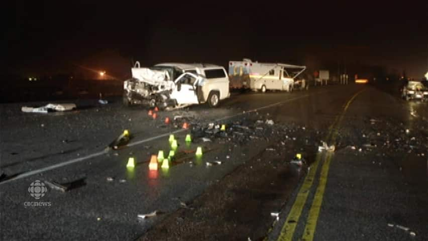 Scene of fatal 2011 crash on Highway 17