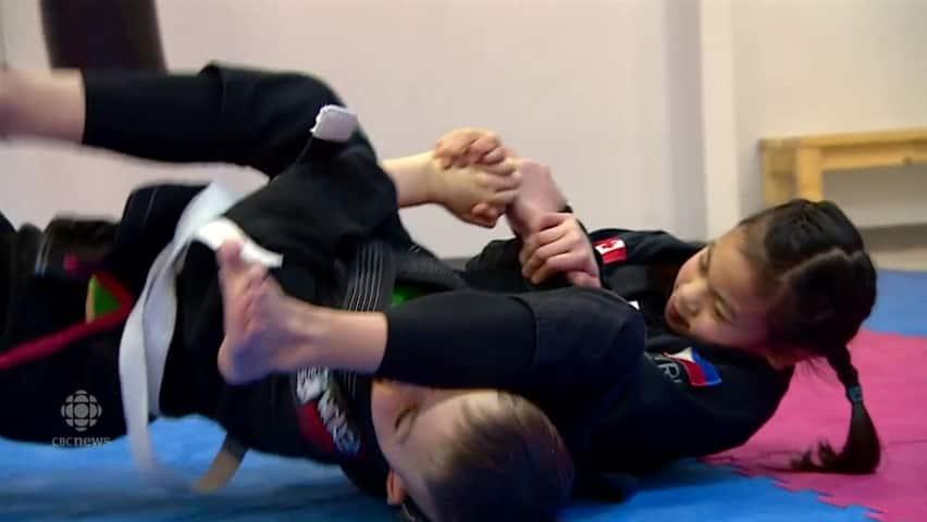 Meet Calgary's 10-year-old jiu-jitsu phenom, Isla Sobejana Diesmos
