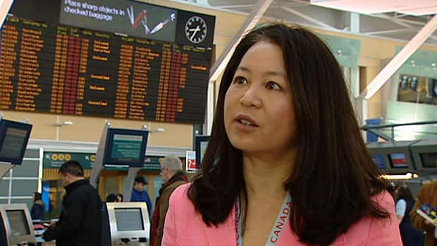 Image result for AIR CANADA ANGELA MAH