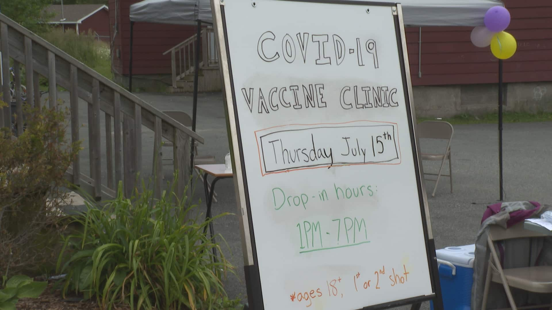 Pop-up clinic gives people in north end neighbourhood of Saint John better access to  vaccinations