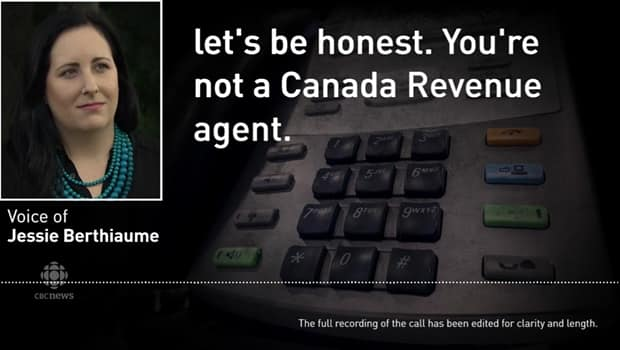CRA scammer admits to stealing from people when confronted during call