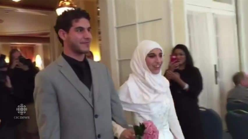 Surprise wedding reception for syrian refugees in saskatoon play surprise wedding reception junglespirit Gallery