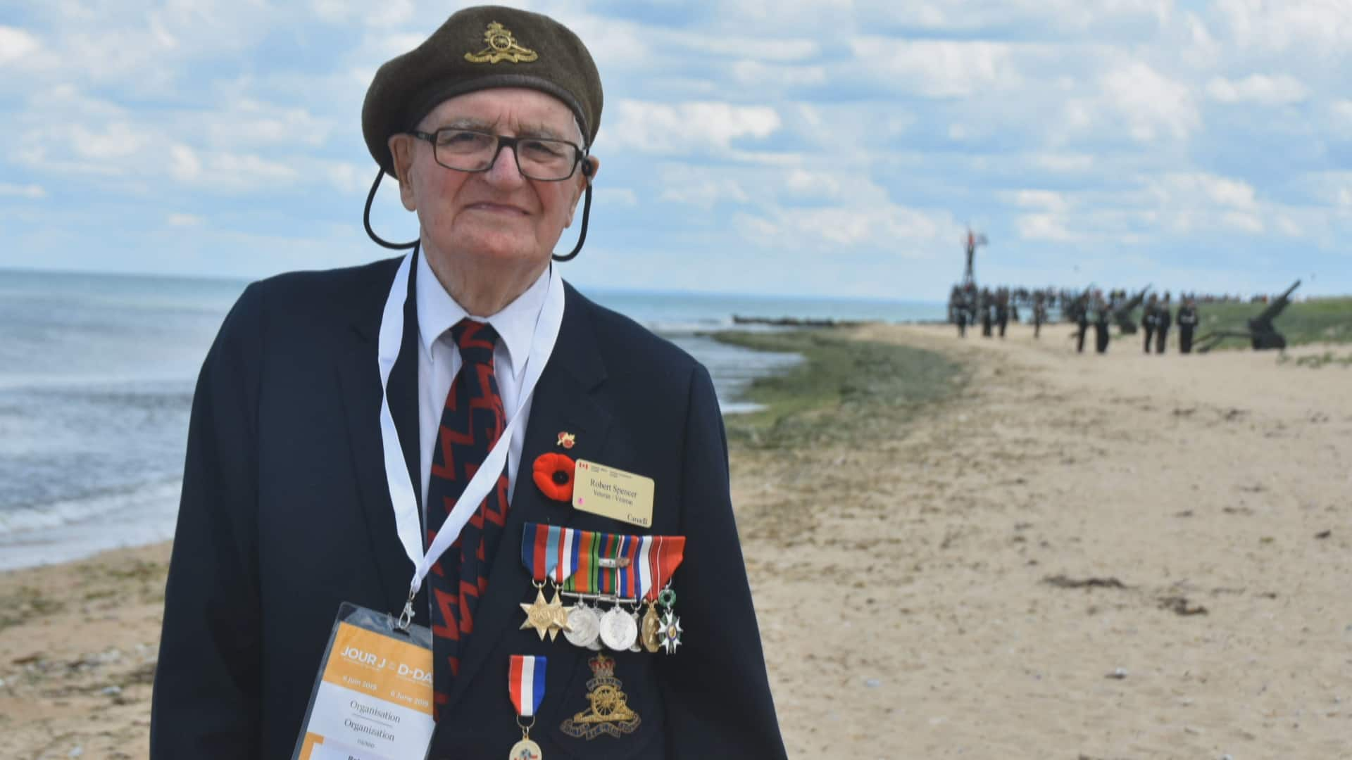 Second World War vet turns 100 using a socially distanced celebration -- plus a parade thumbnail