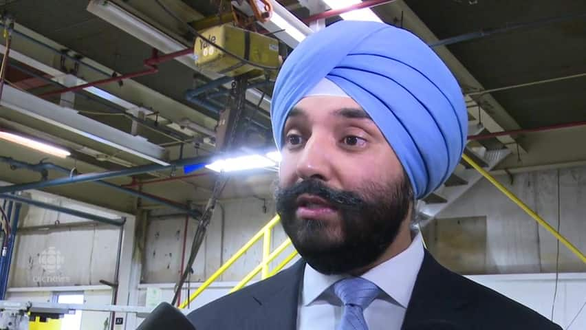 Canada u s trade cbc player for Navdeep singh bains