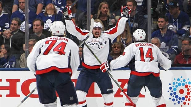 Game Wrap  Capitals eliminate Leafs in overtime 0f5e626a021b