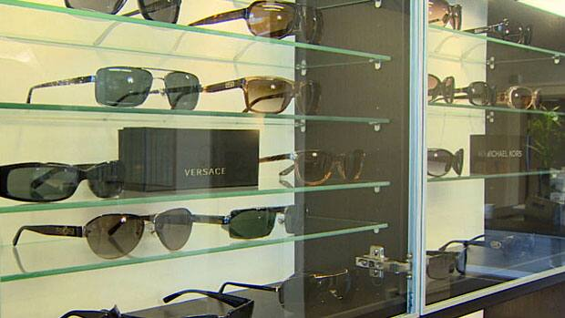 7a15a218ad Thieves target designer eyewear in White Rock