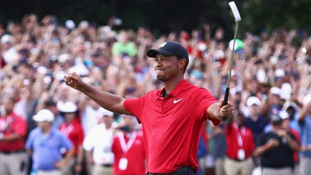 80b7eb2209904 Golf Wrap  Tiger Woods wins Tour Championship for 1st victory in over 5  years - CBC Player