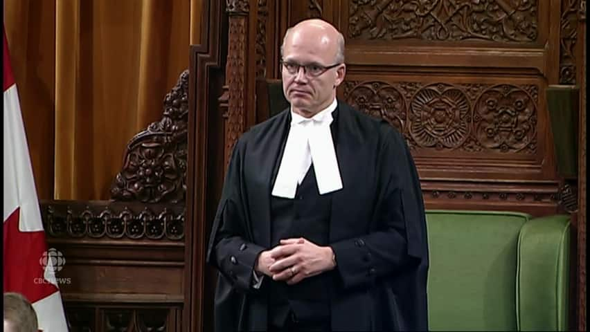Speaker throws MP out of Question Period