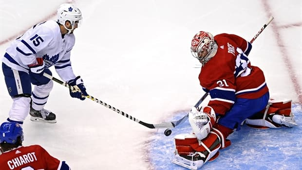 Visitor Maple Leafs Double Up On Canadiens At Tune Up In Toronto Cbc Sports