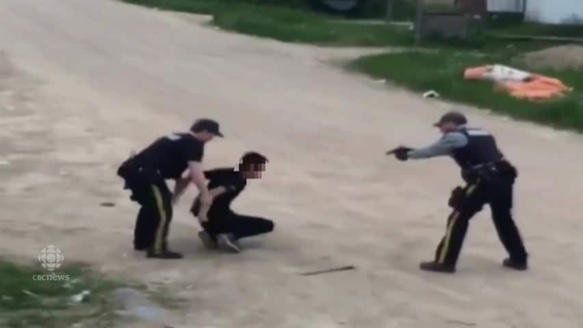 Pelican Narrows arrest video posted on Facebook (Warning: contents may  offend)
