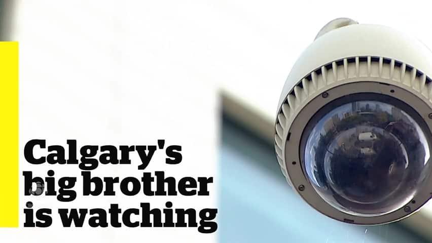 Calgary surveillance cameras