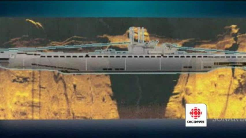 Sunken U Boat Submarines German u - boat may be at bottom of labrador ...