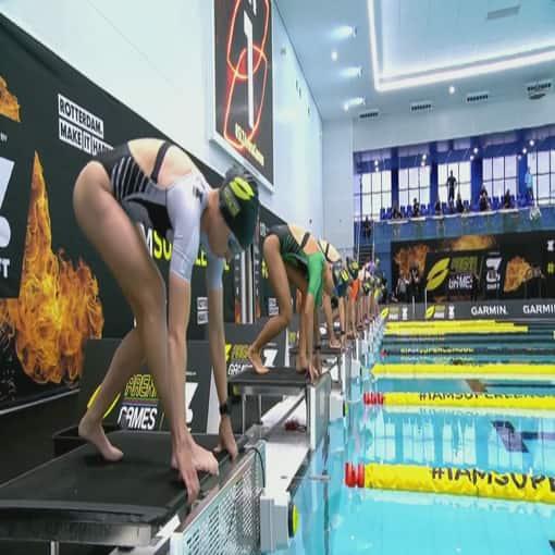 Super League Triathlon Arena Games Rotterdam | CBC.ca