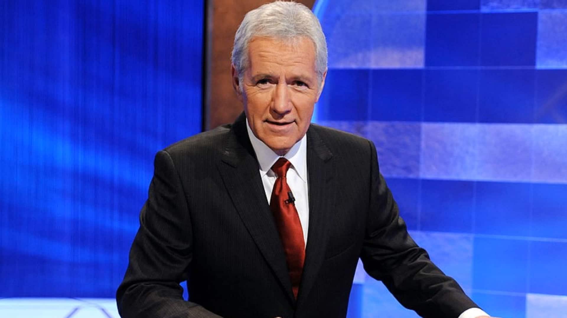 Jeopardy! host Alex Trebek Deceased in 80 thumbnail