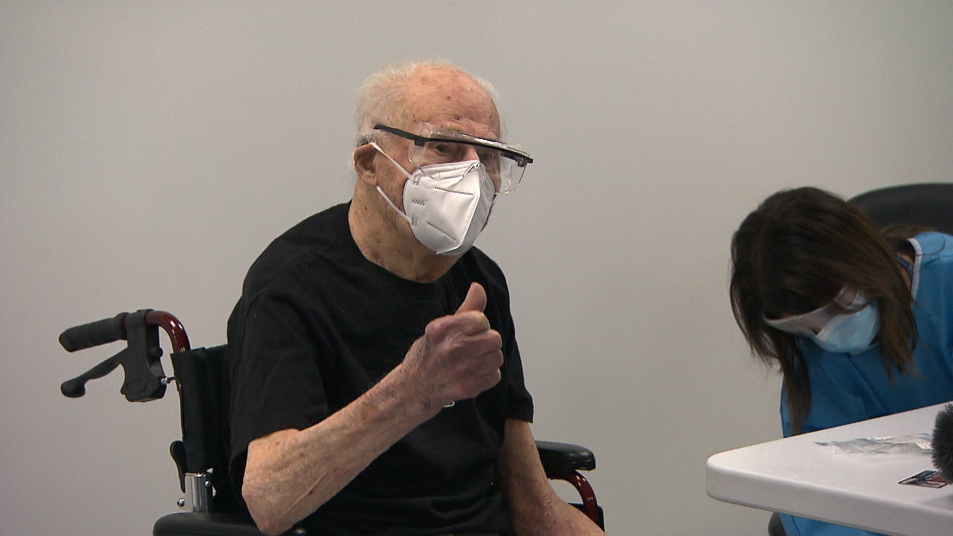 After getting his COVID-19 vaccine, this 103-year-old jazz musician was ready to do some drinking