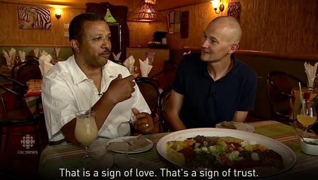 How to eat Ethiopian food