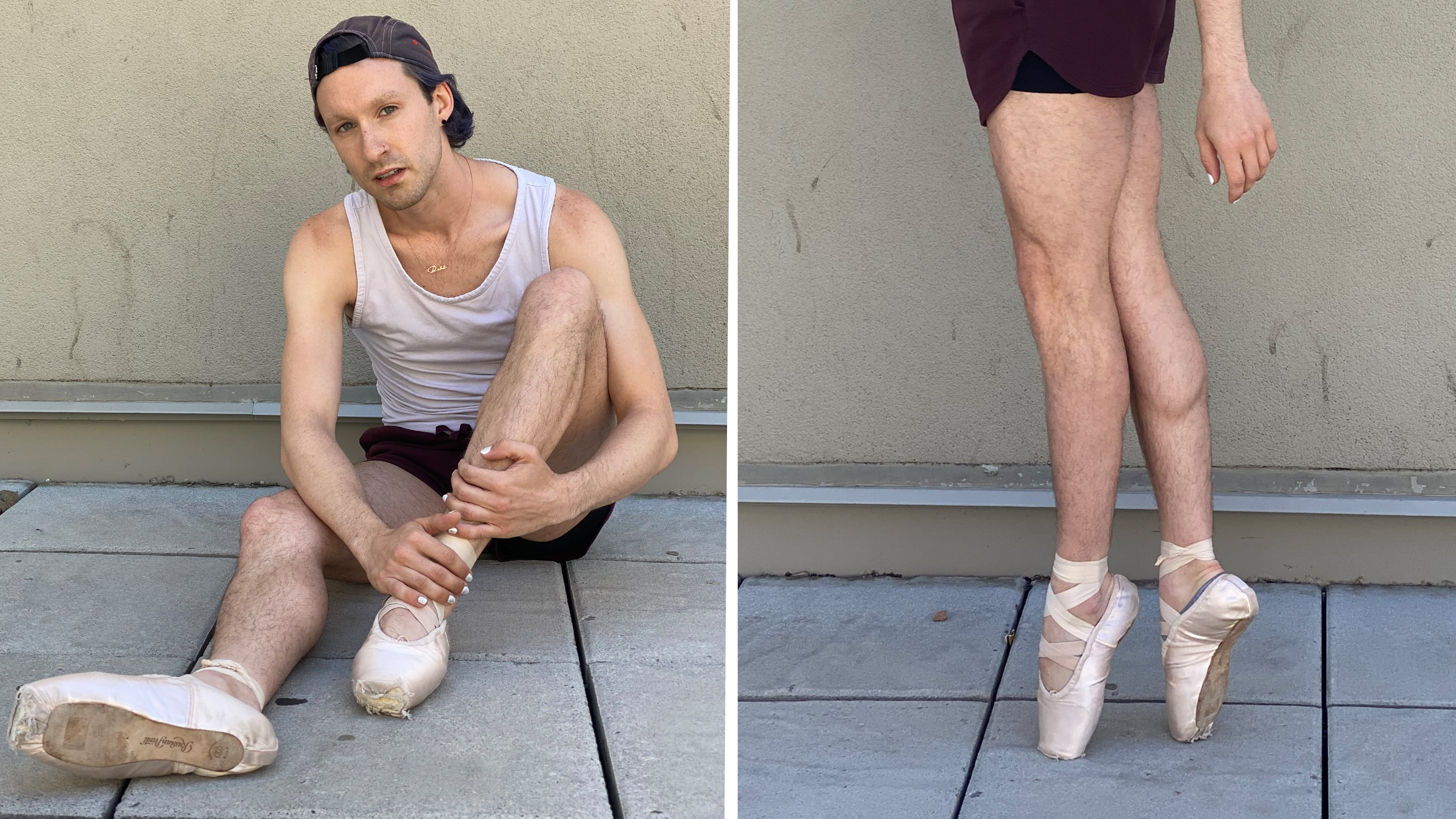 Non-binary ballet student challenges traditions by dancing on pointe