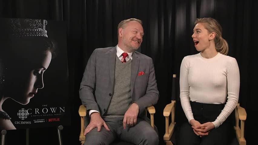 Bazaar interviewde Jared Harris en Vanessa Kirby over