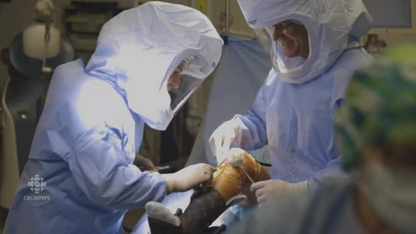 Using A Robot To Perform Knee Surgery For The First Time