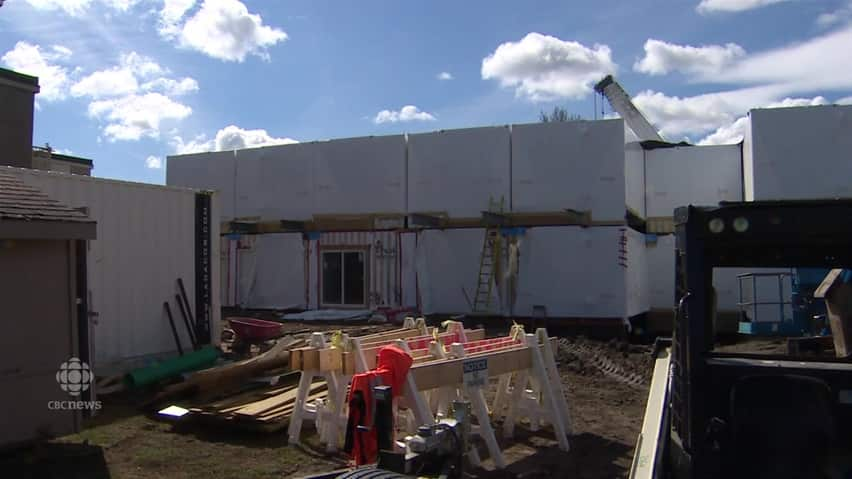 Edmonton\'s first shipping-container apartment building under ...
