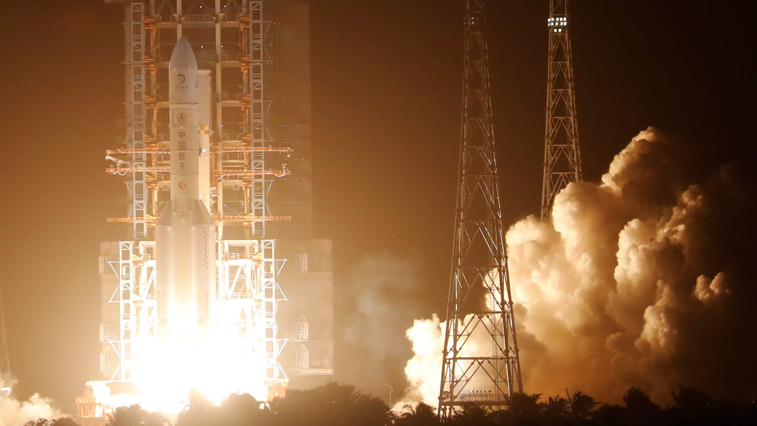 China launches Chang'e-5 Moon sample return mission
