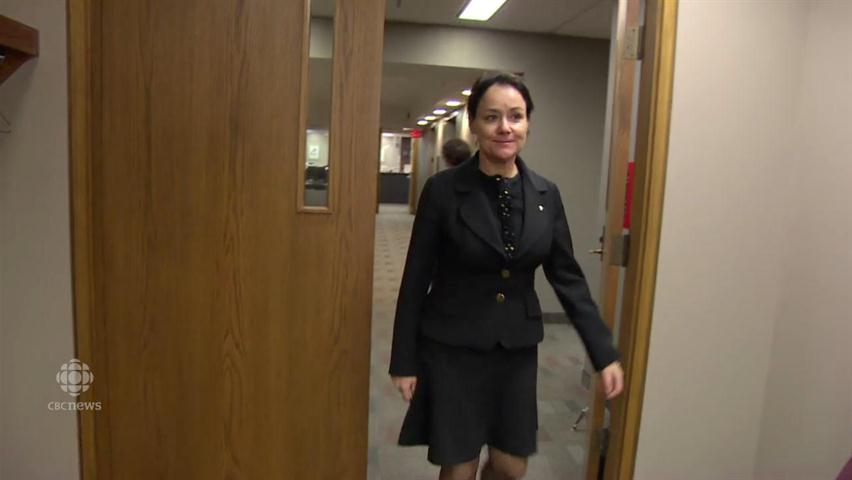 Husband of Manitoba judge being investigated over nude
