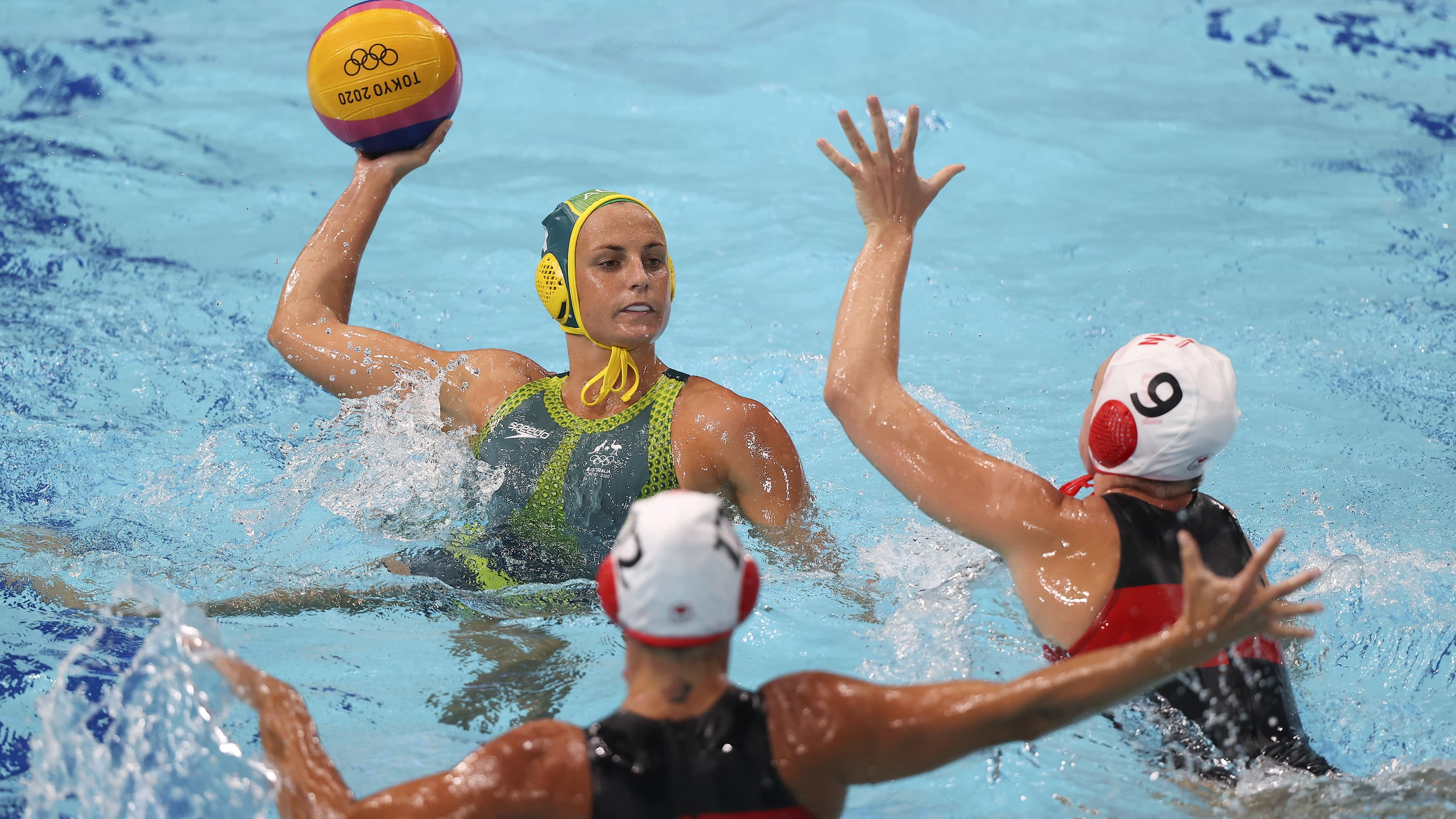 Women water oops polo Rio Olympics
