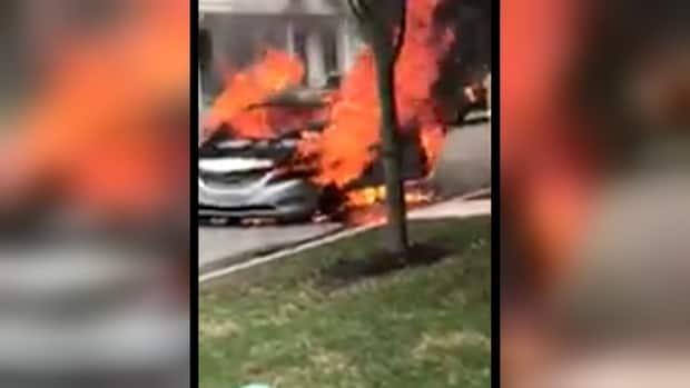 Sonata engine fire