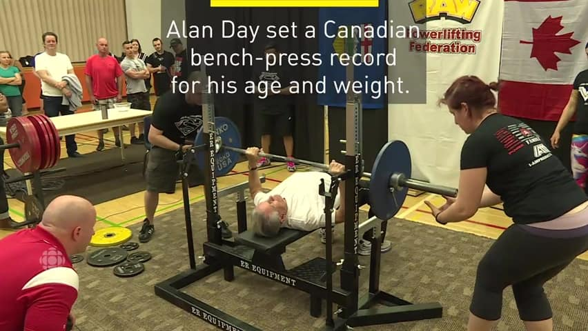 Calgary Powerlifting Competition Has Senior Breaking Record Cbc News