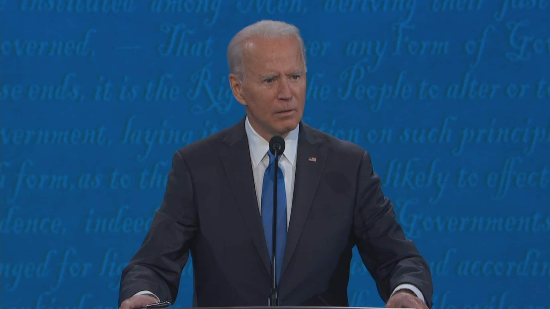 Key Moments From Trump And Biden S Final Presidential Debate Cbc News