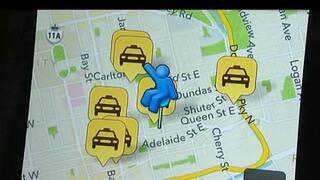 New taxi cab app