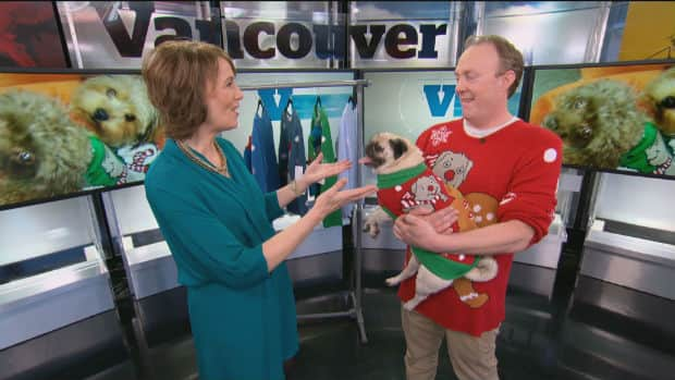 Matching Ugly Christmas Sweaters For Dog And Owner.Matching Ugly Christmas Sweaters With Your Dog