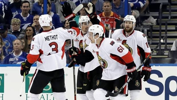 Game Wrap Senators 39 Top Scorers Zap Lightning CBC Player