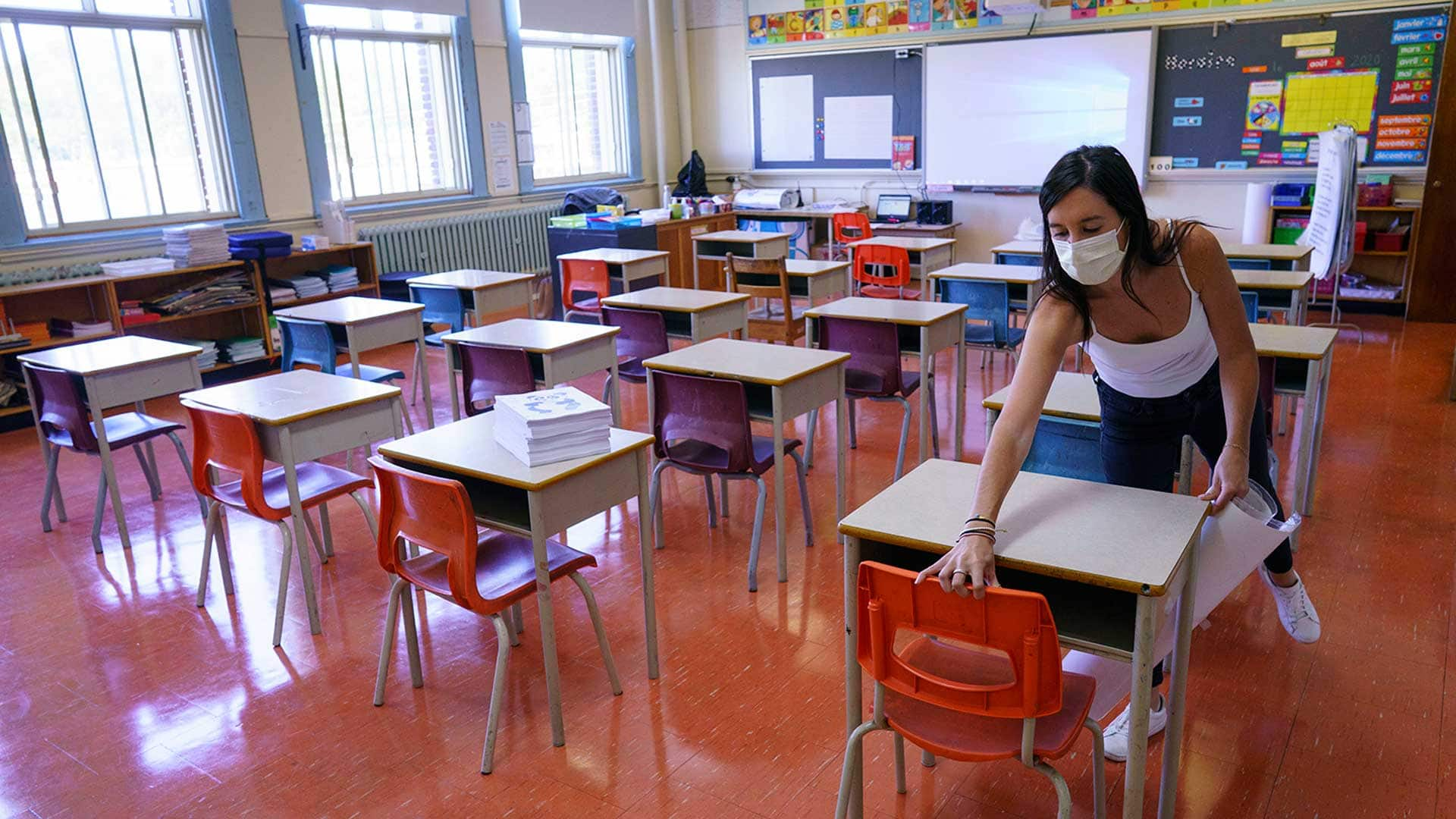 Schools have largely stayed available towards COVID-19, but experts warn of winter flu season ahead thumbnail