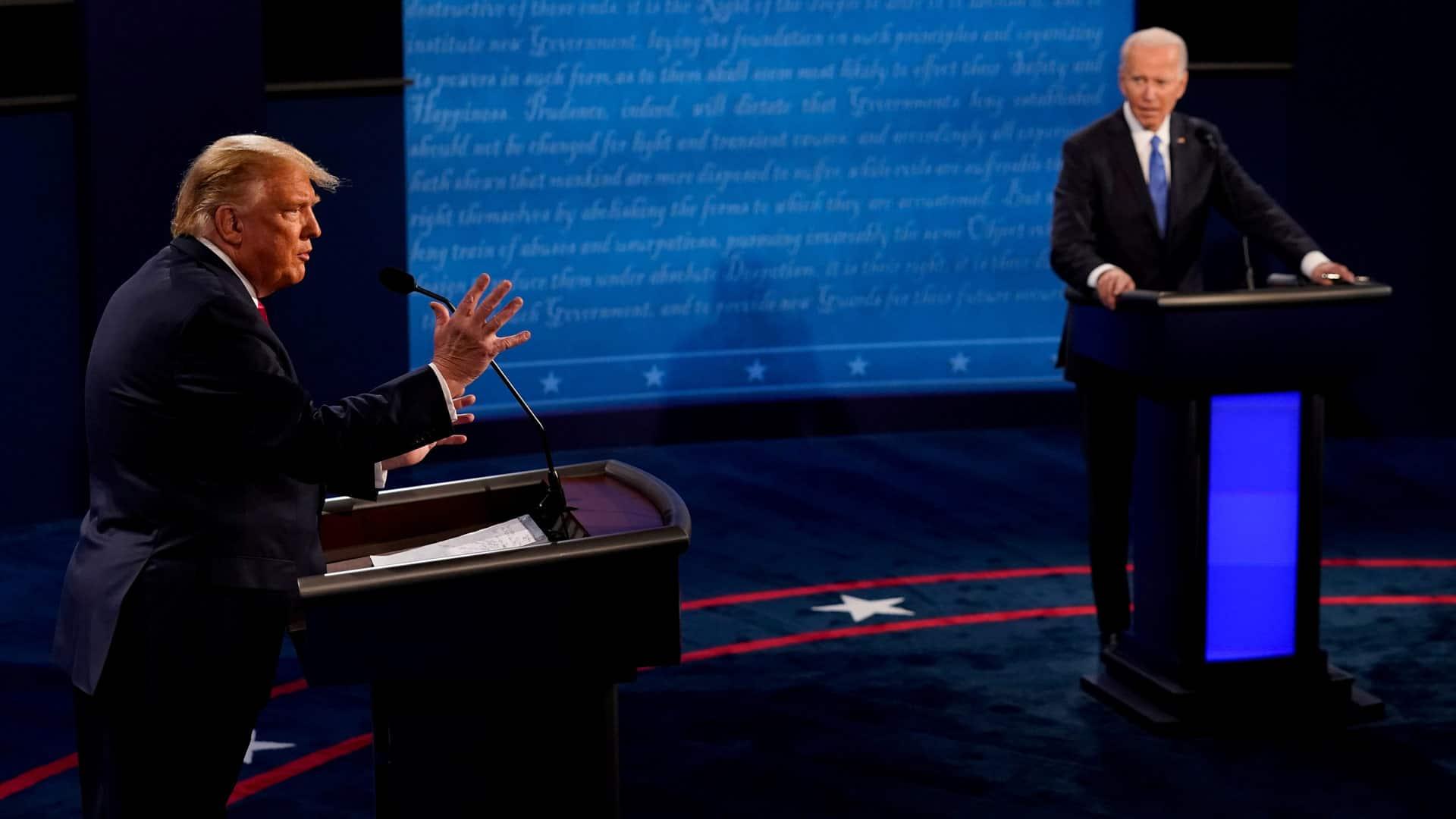 Biden debate trump