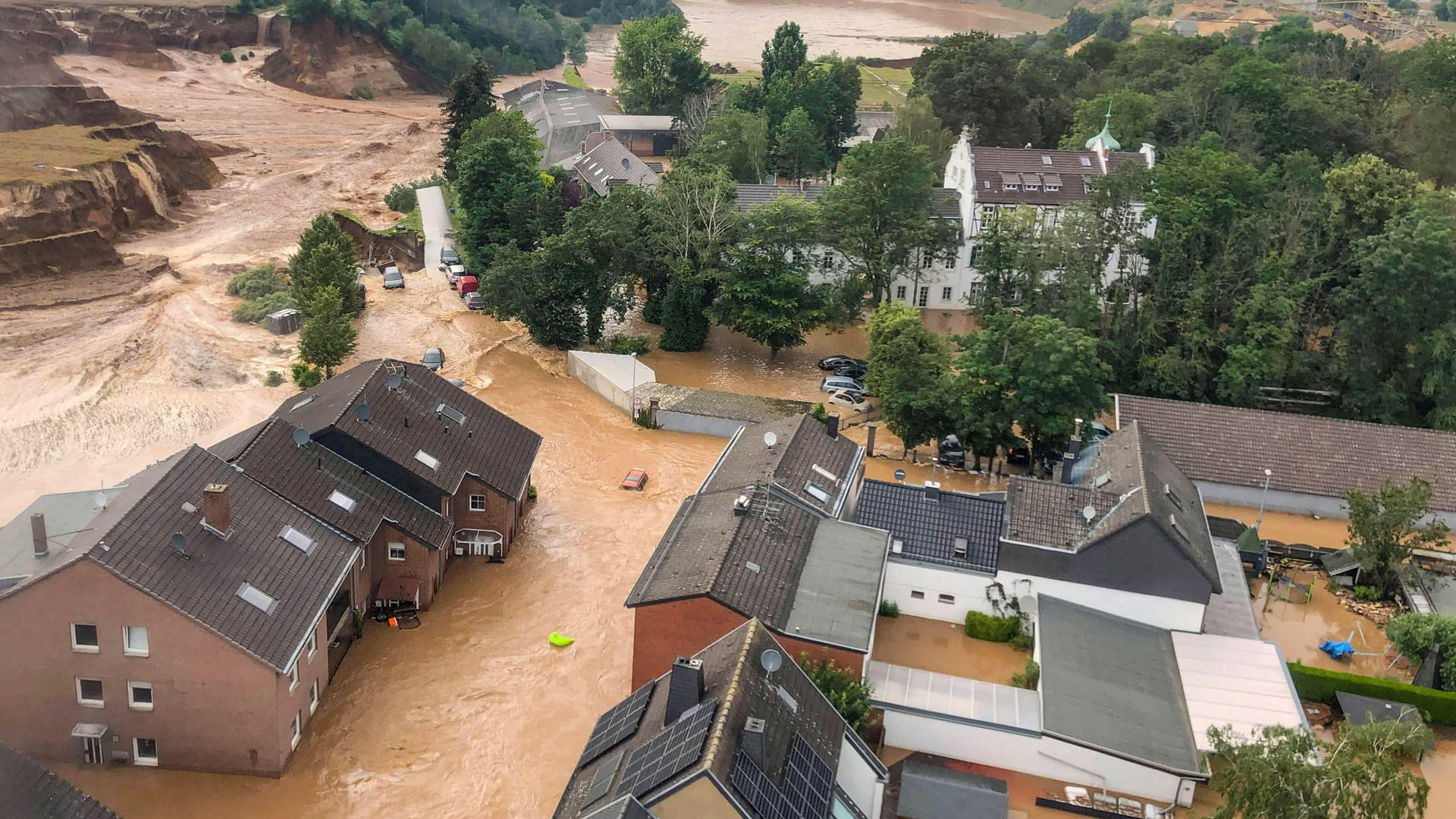 At least 120 dead due to flooding in Germany and Belgium