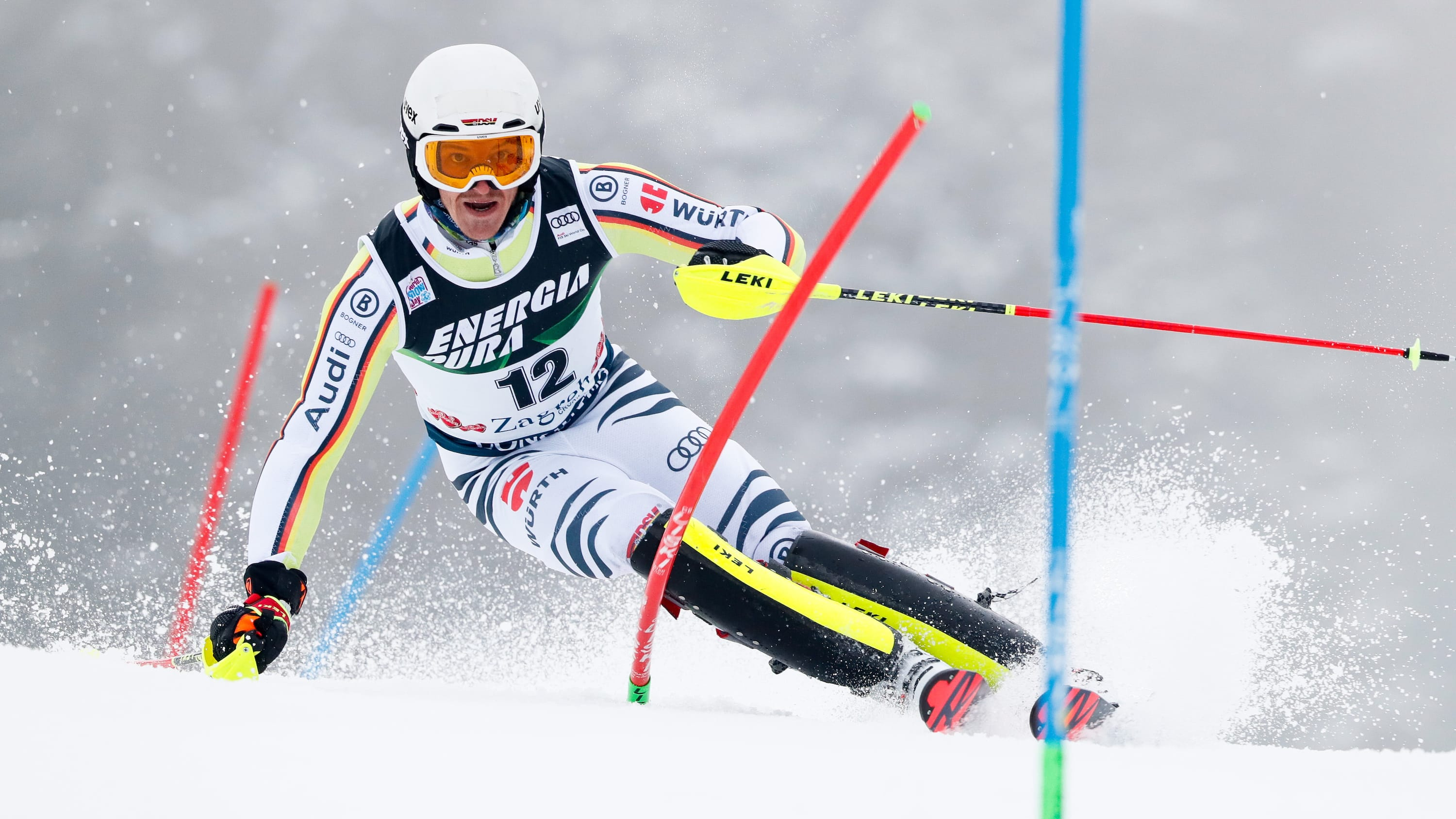 Strasser wins 1st World Cup slalom event of 2021 | CBC Sports