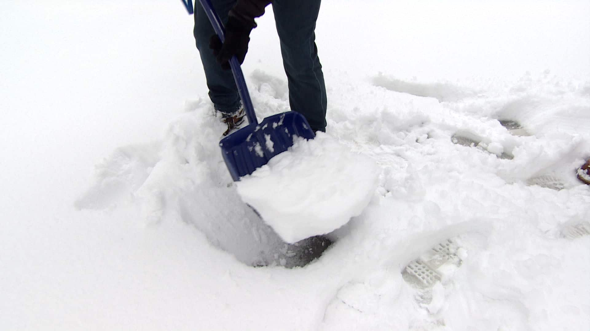 heart attack snow — how to shovel the white stuff safely