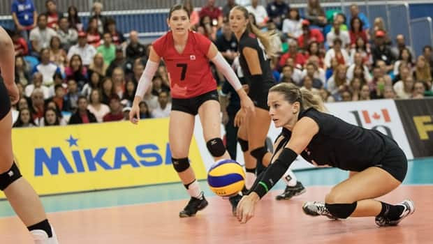Canadian Women S Volleyball Team Tops Peru For 1st Grand Prix Win On Home Soil Cbc Sports