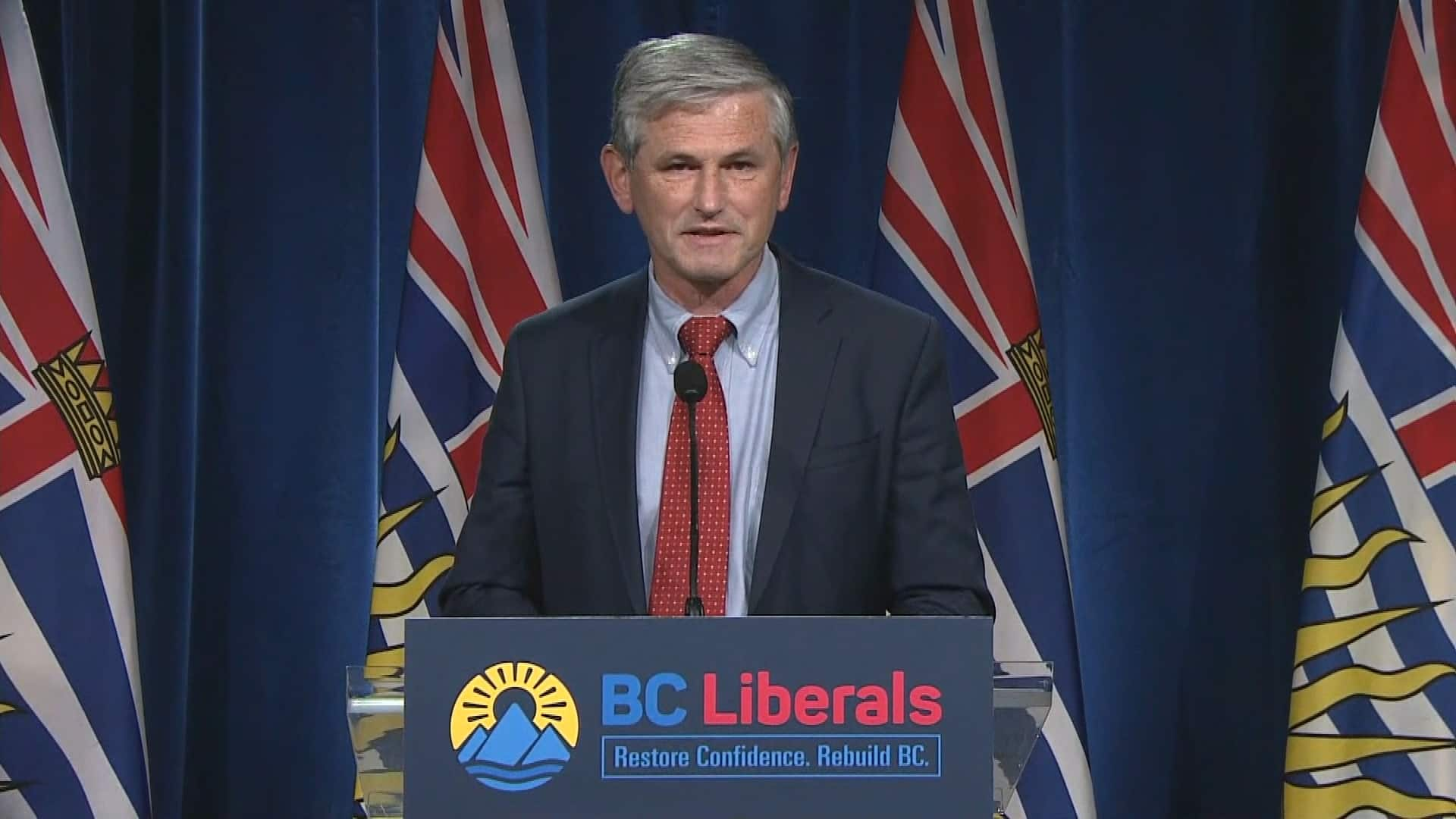 Andrew Wilkinson resigning as B.C. Liberal leader after worst party showing in Years thumbnail