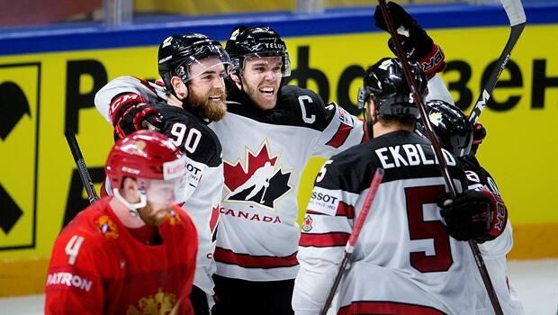c8d6ed482b6 Ryan O Reilly s OT winner sinks Russia as Canada advances to world ...