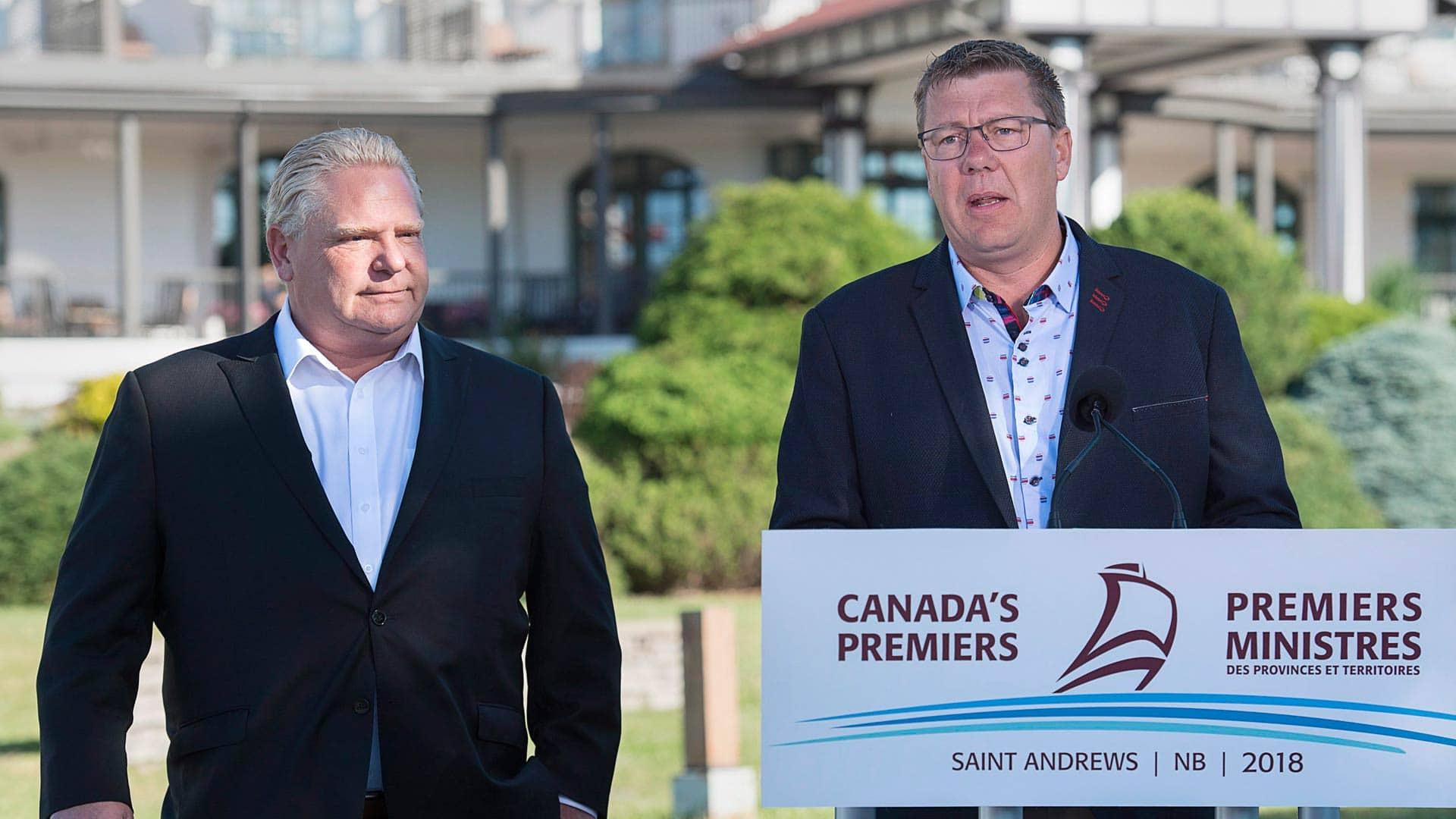 Carbon tax fight intensifies as Ontario joins Saskatchewan in opposition