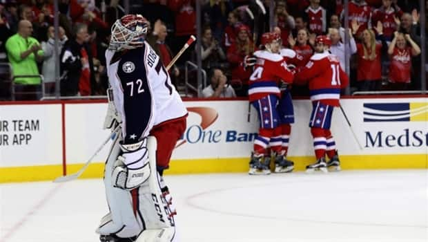 Blue Jackets lose to Capitals, win streak ends at 16 games