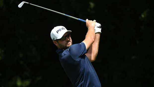 Corey Conners drains 23-foot birdie putt to start Tour Championship