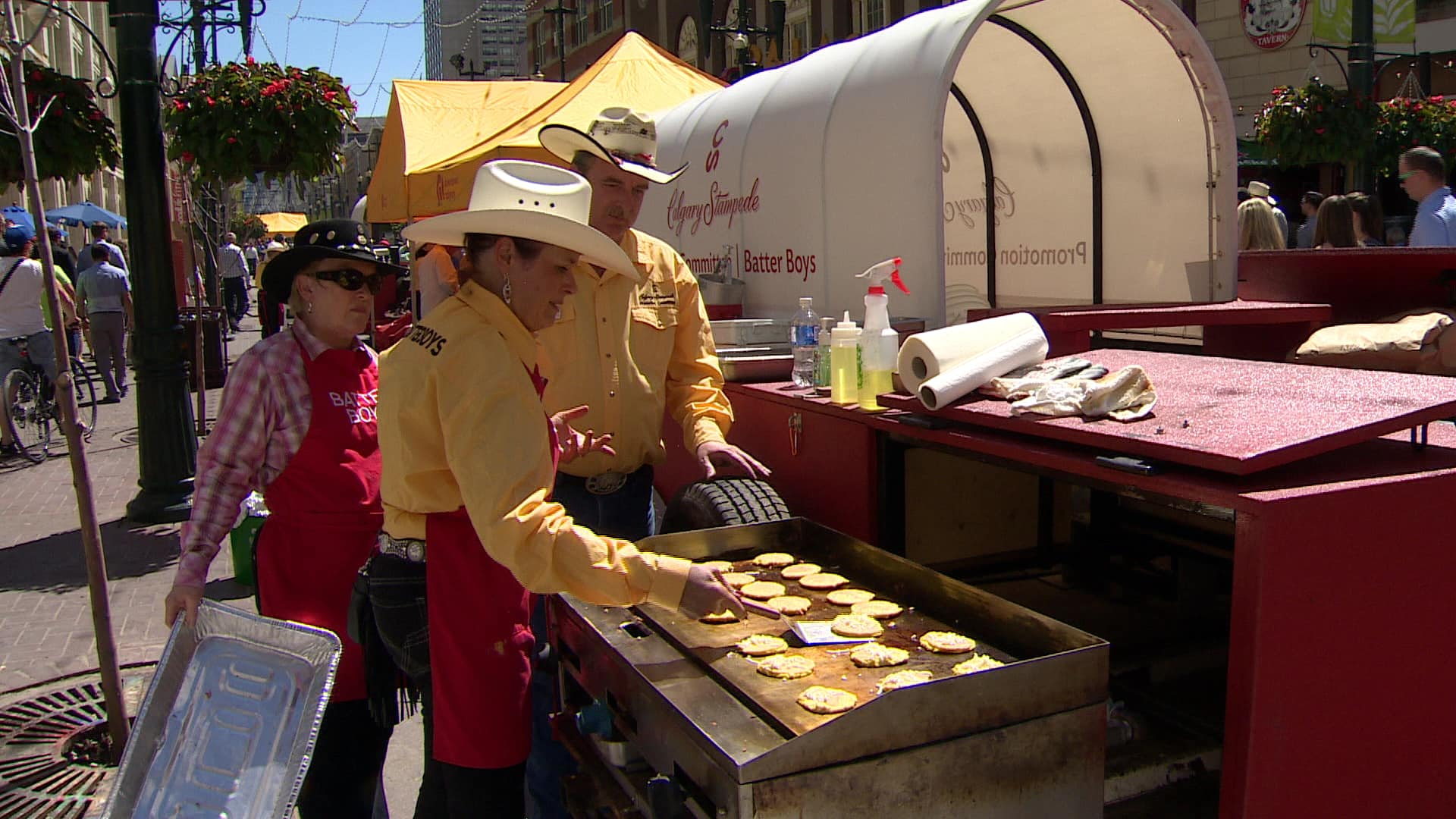 Free Stampede Pancake Breakfast Goes International Cbc
