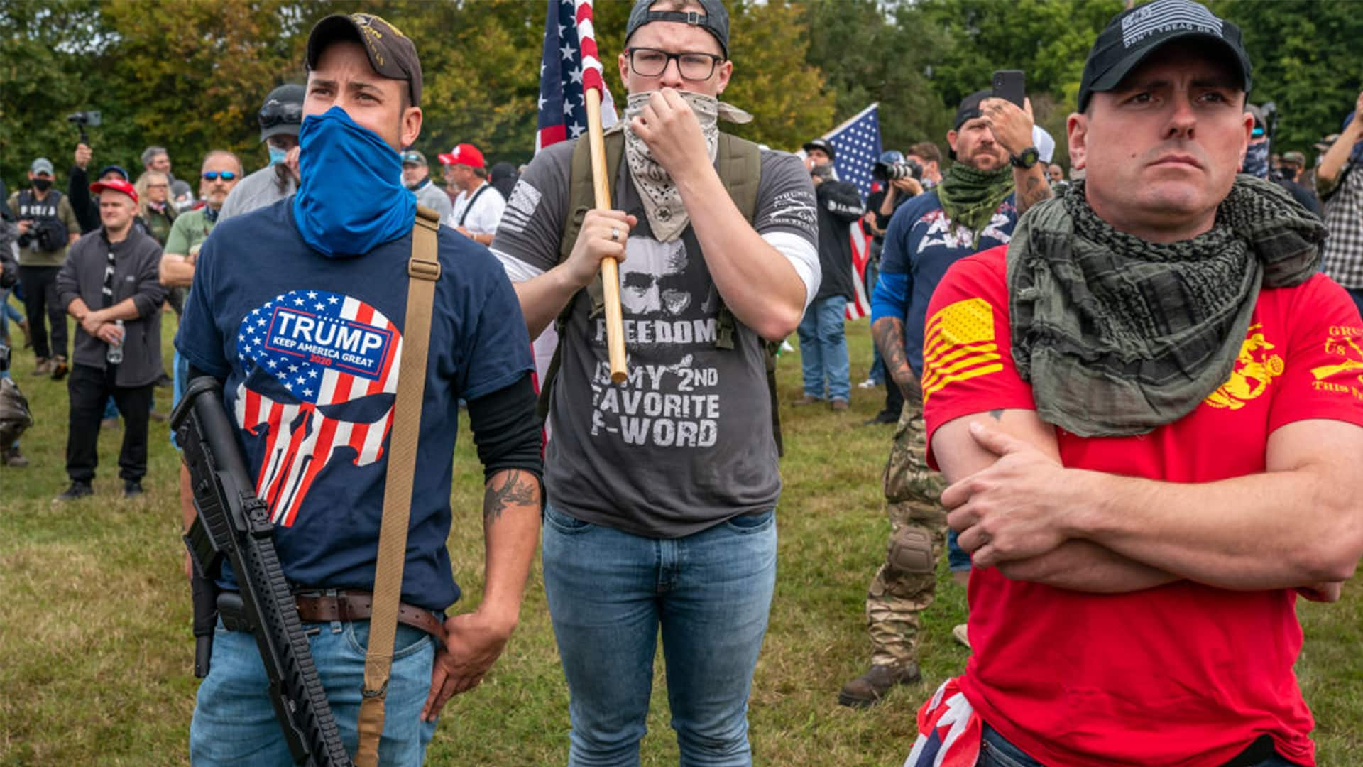 Portland, Ore., far-right Proud Boys rally ends without serious ...